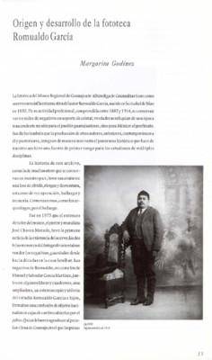 Origen y desarrollo de la fototeca Romualdo García
