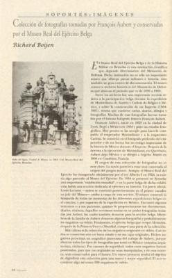 Colección de fotografías tomadas por François Aubert y conservadas por el Museo Real del Ejército Belga