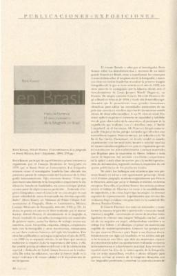 Hercule Florence. El descubrimiento de Ia fotografía en Brasil