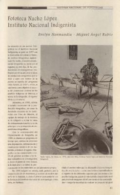 Fototeca Nacho López Instituto Nacional Indigenista