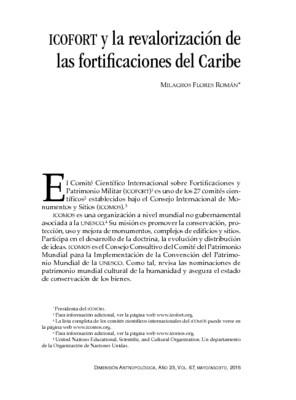 ICOFORT y la revalorización de las fortificaciones del Caribe