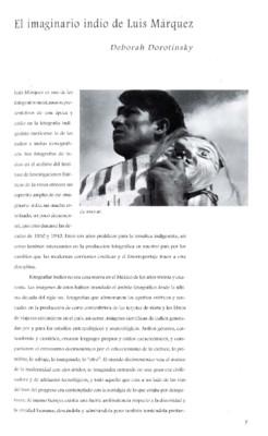 El imaginario indio de Luis Márquez