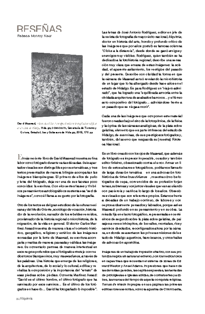 Tierras de Misión. Una aproximación a la arquitectura religiosa en el Estado de Hidalgo