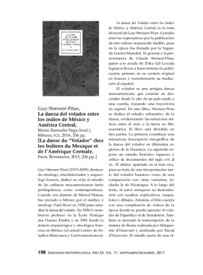 Guy Stresser-Péan, La danza del volador entre los indios de México y América Central, Mario Zamudio Vega (trad.), México, FCE, 2016, 336 pp.