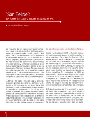 """""""San Felipe"""": Un fuerte de jabín y zapote en la isla de tris"""