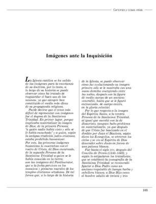 Imágenes ante la Inquisición