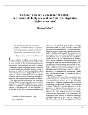 Conocer a su rey y encarnar el poder: la difusión de la figura real en América hispánica (siglos XVI-XVIII)