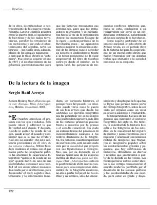 De la lectura de la imagen