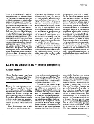 La red de ensueños de Mariana Yampolsky