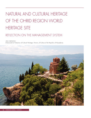 Natural and cultural heritage of the Ohrid Region World Heritage Site