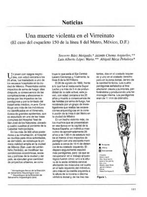 Una muerte violenta en el Virreinato