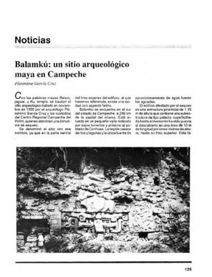 Balamkú: un sitio arqueológico maya en Campeche