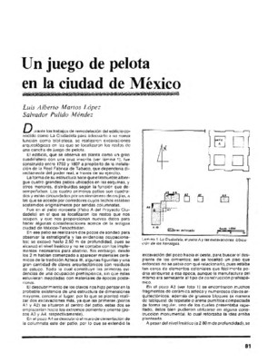Un juego de pelota en la ciudad de México