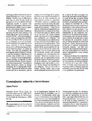 Guanajuato: minería e inversiones