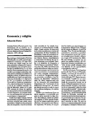 Economía y religión