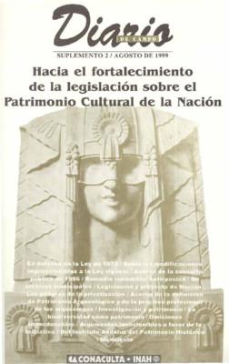 Suplemento 2. Hacia el fortalecimiento de la legislación sobre el Patrimonio Cultural de la Nación