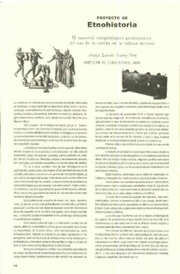 El material conquiológico prehispánico. El uso de la concha mexica
