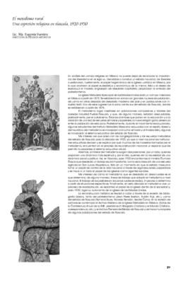 El metodismo rural. Una expresión religiosa en Tlaxcala, 1920-1930