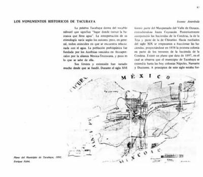 Los monumentos históricos de Tacubaya