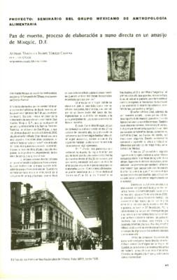 Pan de muerto, proceso de elaboración a mano directa en un amasijo de Mixquic, D.F.