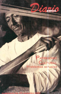 Suplemento 27. Patrimonio cultural, problemas culturales