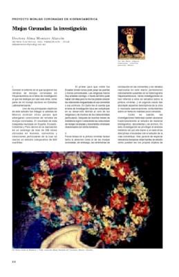 Monjas Coronadas: la investigación