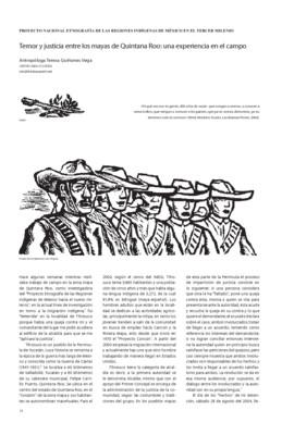 Temor y justicia entre mayas de Quintana Roo: una experiencia en el campo
