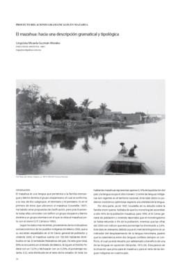 El mazahua: hacia una descripción gramatical y tipológica