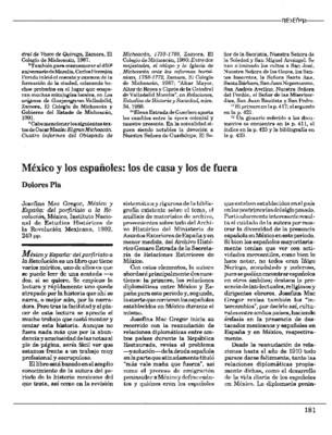 México y los españoles: los de casa y los de fuera