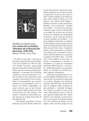 Martha Eva Rocha Islas, Los rostros de la rebeldía. Veteranas de la Revolución mexicana, 1910-1939