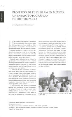 Profesión de fe: El islam en México. un ensayo fotográfico de Héctor Parra