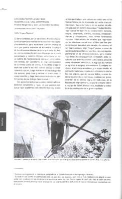 Los combates por la identidad. Resistencia Cultural Afroperuana