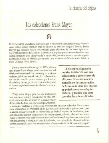 Las colecciones Franz Mayer