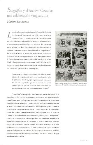 Rotográfico y el Archivo Casasola: una colaboración vanguardista