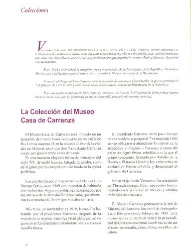 La Colección del Museo Casa de Carranza