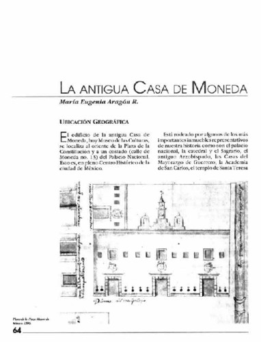 La antigua Casa de Moneda
