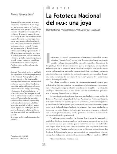 La Fototeca Nacional del INAH: una joya
