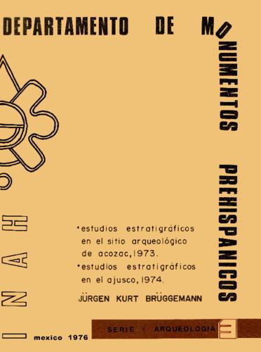 Estudios estratigráficos en el sitio arqueológico de Acozac, 1973