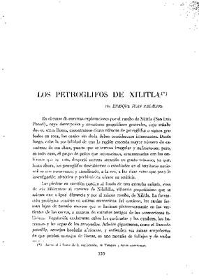 Los petroglifos de Xilitla.