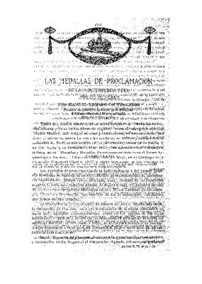 Las medallas de proclamación de la Independencia y del Imperio Mexicano.