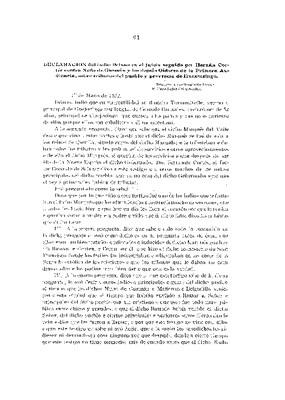 Declaración del indio Delnas en el juicio seguido por Hernán Cortés contra Nuño de Guzmán y los demás Oidores de la Primera Audiencia, sobre tributos del pueblo y provincia de Huexotzingo