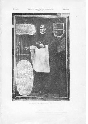 Galería iconográfica del Museo Nacional de Arqueología, Historia y Etnografía. El doctor Juan José de Eguiara y Eguren.