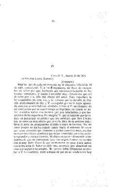 Leona Vicario. Documento IX