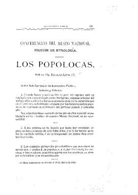 Los popolocas.