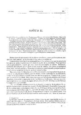 Libro Primero. Capítulo XI.- Creación de los astros cronológicos