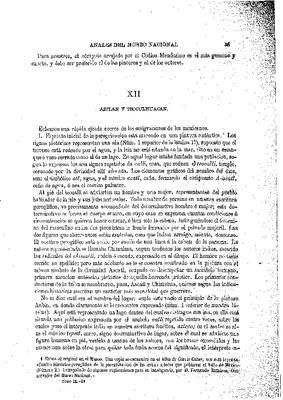 Ensayo de descifración geroglífica. XII.- Aztlán y Teoculhuacan.