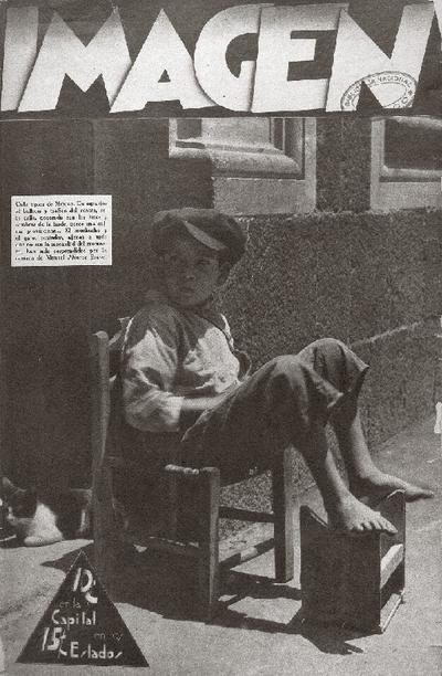 Manuel Álvarez Bravo en la revista Imagen