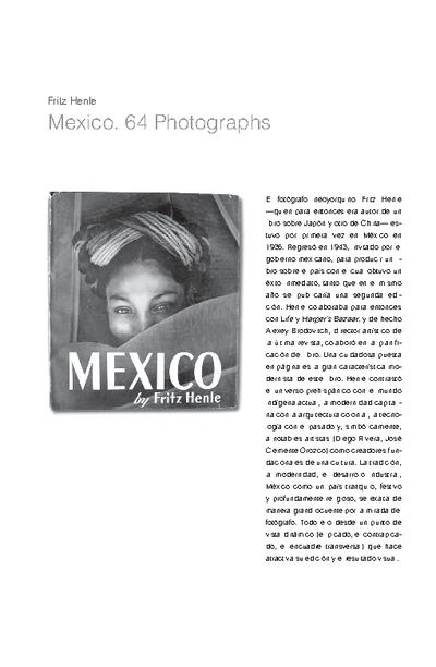 Mexico. 64 Photographs