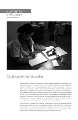 Catalogación de fotografías