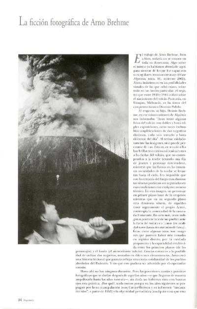 La ficción fotográfica de Arno Brehme